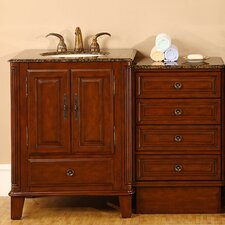 "Allegheny 48.5"" Single Bathroom Vanity Set"