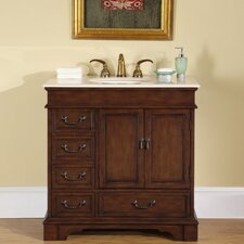 "<strong>Silkroad Exclusive</strong> Bradford 36"" Single Bathroom Vanity Set"