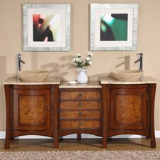 "Northampton 72"" Double Bathroom Vanity Set"