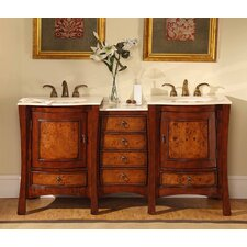 "Northampton  67"" Double Bathroom Vanity Set"