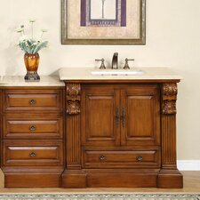 "Montgomery 58"" Single Bathroom Vanity Set"