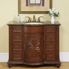 "Michelle 42"" Single Sink Bathroom Vanity Set"