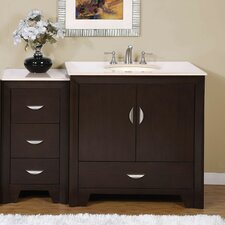 "Ilene 54"" Single Sink Bathroom Vanity Set"