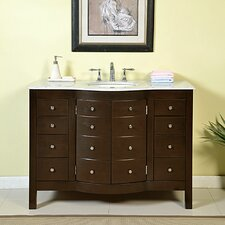 "Prima 48"" Single Bathroom Vanity Set"