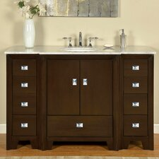 "Ilene 55"" Single Bathroom Vanity Set"