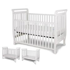 Flat Slat Sleigh Crib