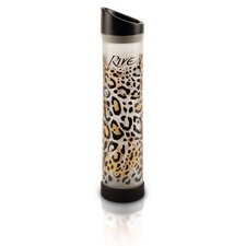 <strong>Rive</strong> Savoy 16 Oz Leopard Glass Water Bottle