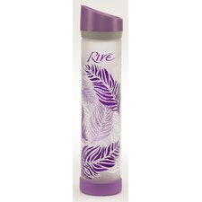 Savoy Purple Feathers Water Bottle