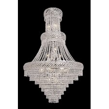 <strong>Titania Lux</strong> Embedded 18 Light Crystal Chandelier