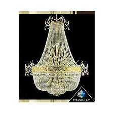 <strong>Titania Lux</strong> 24 Light Crystal Chandelier