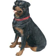 Life Size Large Rottweiler Sculpture