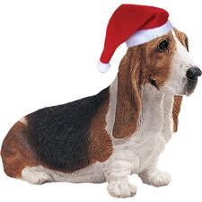 <strong>Sandicast</strong> Basset Hound Christmas Ornament