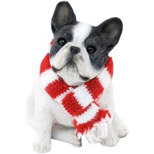 Brindle French Bulldog Christmas Ornament