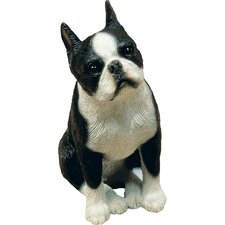 <strong>Sandicast</strong> Mid Size Sculptures Boston Terrier Figurine