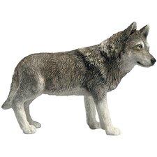 Mid Size Sculptures Sandicast Wolf Figurine