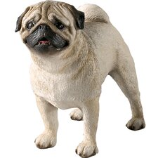 <strong>Sandicast</strong> Original Size Pug Sculpture