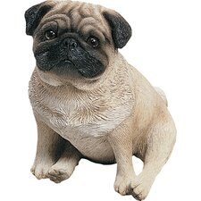 <strong>Sandicast</strong> Original Size Pug Pup Sculpture
