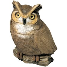 Original Size Sculptures Owl Figurine