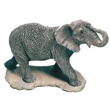 Original Size Sculptures African Elephant Figurine