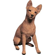Original Size Miniature Pinscher Sculpture