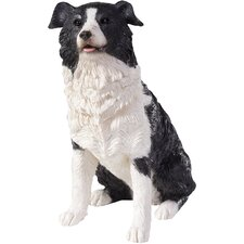 <strong>Sandicast</strong> Small Size Sculptures Border Collie Figurine