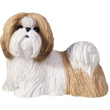 <strong>Sandicast</strong> Small Size Sculptures Shih Tzu Figurine