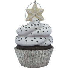 Snowflake Top Cupcake Christmas Tree Ornament