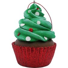 Confetti Cupcake Christmas Tree Ornament