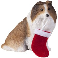Sable Shetland Sheepdog Christmas Tree Ornament
