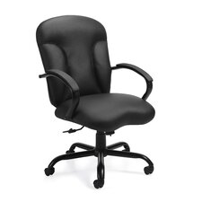 Luxhide Leather Executive Chair with Arms