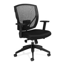 Mesh Synchro Tilter Chair with Arms