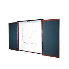Two Door Presentation 4' x 4' Whiteboard