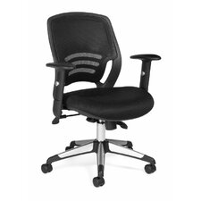 <strong>Offices To Go</strong> Mid-Back Mesh Managerial Chair
