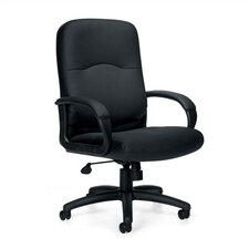 <strong>Offices To Go</strong> High-Back Leather Executive Chair