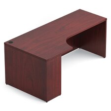 Ventnor Desk Shell with Corner Extension Left