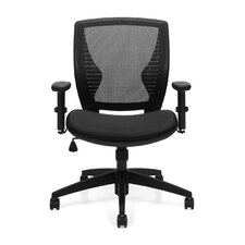 <strong>Offices To Go</strong> Mid-Back  Mesh Tilter Chair with Arms