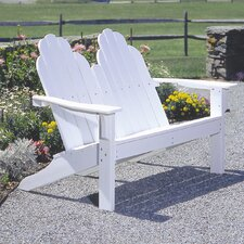 <strong>Seaside Casual</strong> Classic Adirondack Garden Bench