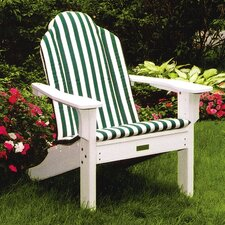 <strong>Seaside Casual</strong> Adirondack Shell Back Chair Cushion