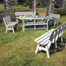 <strong>Seaside Casual</strong> Portsmouth 5 Piece Dining Set