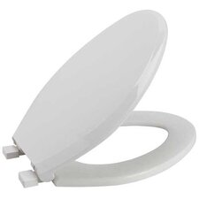 Slow-Close Elongated Toilet Seat