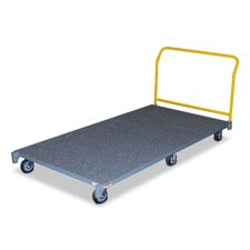 American Cart and Equipment Carpeted Platform Dolly