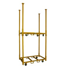 "<strong>Granite Industries</strong> American Cart and Equipment Table Storage Cart with 33"" Legs"