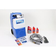 Wide Track Professional Carpet Shampooer with Tools and Shampoo