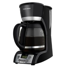 <strong>Black & Decker</strong> 12 Cup Coffee Maker with Programmable Clock