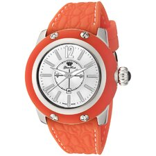 Women's Palm Beach Silicon Watch in Silver