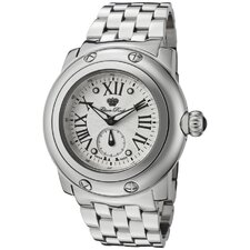Women's Miami Guilloche Round Watch