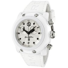 Unisex Miami Beach Chronograph Guilloche Round Watch