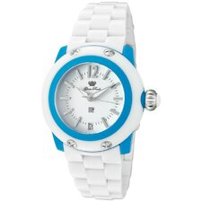 Women's Miss Miami Beach Polycarbonate Round Watch