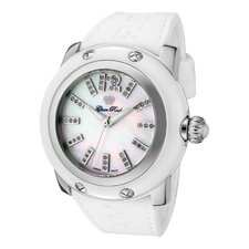 <strong>Glam Rock</strong> Women's Miami Diamond Round Watch