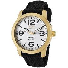 Men's Specialty Nylon Round Watch